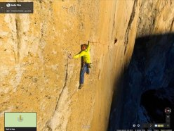 Dawn Wall panorama con Tommy Caldwell