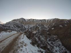 Cevizli Valley, Anatolia Pillar è la prima a sinistra, segue la French line in mezzo, le due/tre a destra non sono state salite