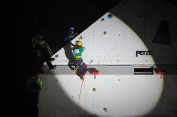 Ice Climbing World Cup 2015 a Champagny