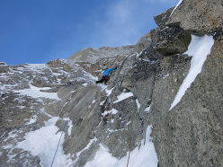 Chancer, NW Face Tour Ronde: Jon Bracey on pitch 3