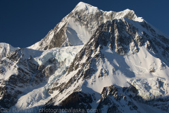 The amazing Mount Hess (11,486ft), a lonely giant that is rarely seen, let alone climbed.