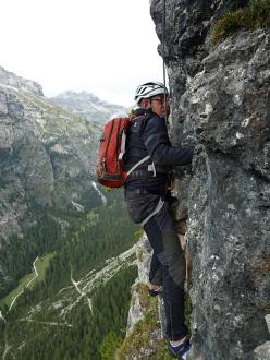 Via Ventura, Vallunga, Val Gardena, Dolomites