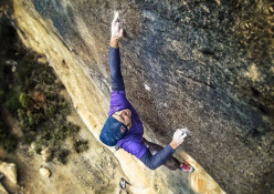 Chris Sharma interview after new 9b/+ climb at Cova de Ocell in Spain