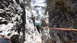 Via Andrich-Bianchet alla parete ovest della Cima di Val di Roda