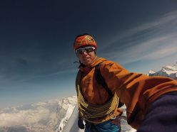 Tom Ballard: the summit, not only of the Eiger, but of a winter's project.