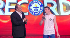 Stefano Carnati stabilisce un nuovo Guinness World Records
