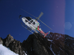 Heli-skiing in Italy