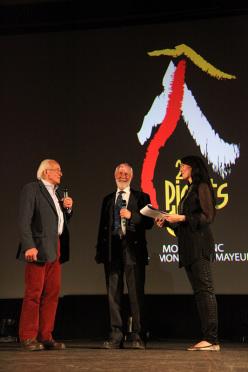 Doug Scott, Chris Bonington and Kay Rush