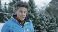 Kurt Walde, mountain guide from Bruneck and expert about mountain safety