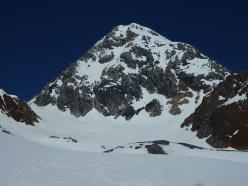Königsspitze West Face