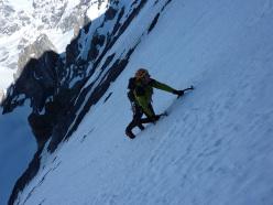 Königsspitze West Face, via Zebrusius: Paolo Arosio