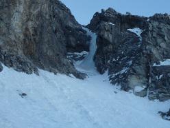 Königsspitze West Face, via Zebrusius: the hidden peal