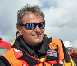 Italian mountain guide and member of the Mountain Rescue Squad Oskar Piazza