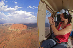 Uluru (also referred to as Ayers Rock) in Australia's Northern Territory