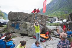Melloblocco 2015 day 4 Paraclimbing