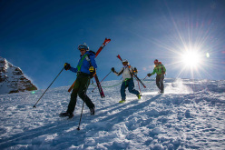 Mezzalama 2015: first women?s team in descent