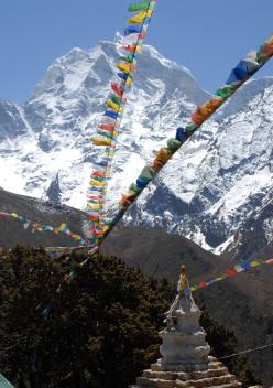 Kangtega in Nepal
