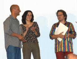 Premio Grignetta d'Oro 2003: Andrea Gallo, Federica Balteri & Leonardo Bizzaro