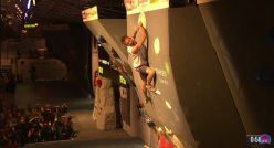 Stefan Scarperi and his European Bouldering bronze in Innsbruck
