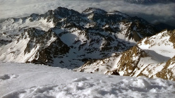 View from the summit of Monviso