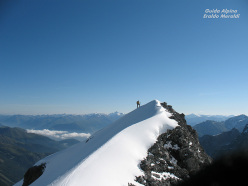 Cima Tuckett ski mountaineering: ski touring via the North Ridge of Madaccio di Dentro