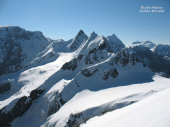 Cima Tuckett ski mountaineering: Thurwieser- Trafoier group