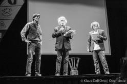 Grignetta d'Oro 2015: Hervè Barmasse, Alessandro Filippini and Alberto Pirovano
