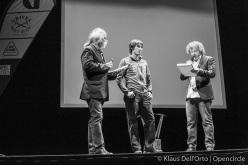 Grignetta d'Oro 2015: Alessandro Filippini, Matteo Della Bordella and Alberto Pirovano