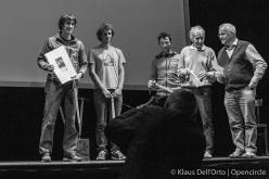 Grignetta d'Oro 2015: Matteo Della Bordella, Luca Schiera, Corrado Pesce, Mario Conti and Emilio Aldeghi