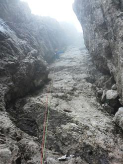 Ivo Ferrari enchaining the arêtes in the Grignetta massif