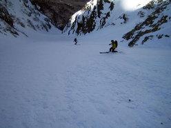 Cittadini della Galassia 1st ski descent by Lafranconi, Pina and Marazzi