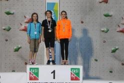 Podio Speed del Campionato Italiano Giovanile 2015
