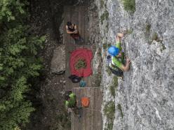 In arrampicata a Piazzole, la nuova falesia sui pendici sud est del Monte Biaina, Padaro, Arco
