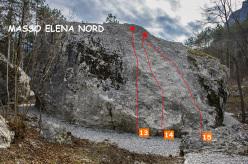 Gaggiolo - Masso Elena Nord
