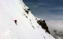 Grand Combin de Grafenière SE Ridge: Davide Capozzi & Julien Herry