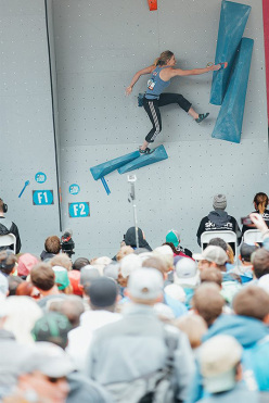 Coppa del Mondo Boulder 2015 - Vail: Shauna Coxsey