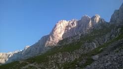 La magnifica parete sud della Presolana, Prealpi Bergamasche