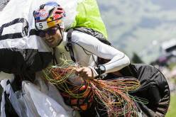 Aaron Durogati, unico atleta italiano che parteciperà al Red Bull X-Alps 2015