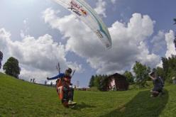 Aaron Durogati al Red Bull X-Alps 2013
