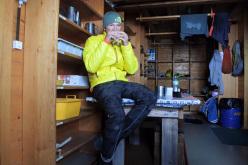 #82summits: Michael Wohlleben at the Schreckhornhütte