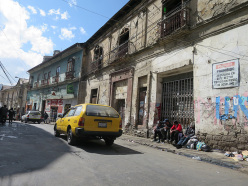 Illimani South Face: Marco Farina and Marco Majori at La Paz