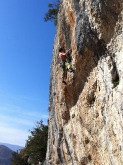 Climber diverso, falesia diversa, ma la sensazione è sempre la stessa...