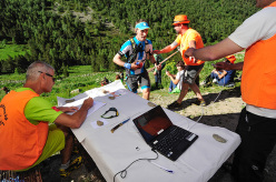 During the mountain trail running competition Andorra Ultra Trail Vallnord 2015
