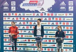 European youth bouldering cup Längenfeld: 1 Giorgia Tesio, 2 Elena Krasovskaia, 3 Vita Lukan.