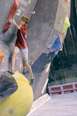 European youth bouldering cup Längenfeld