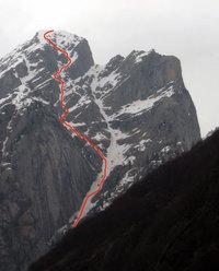 Punta Livincina (Quota 2590m - Val Masino)