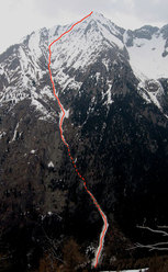 Cima d'Arcanzo 2714m (Val Masino)