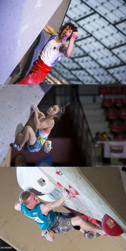 Adam Ondra, Jain Kim e Jakob Schubert, nominati per il La Sportiva Competition Award 2015