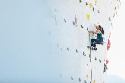 Jessica Pilz qualifying for the finals of the third stage of the Lead World Cup 2015 that will take place on Saturday 1 August at 19:30 in Imst, Austria