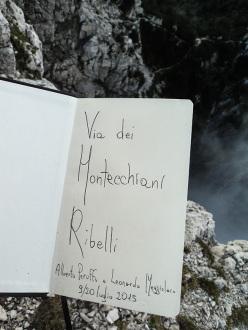 """""""Libro di via""""."""